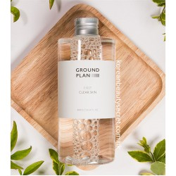 Ground Plan First Clean Skin Toner 天然植物潔淨爽膚水